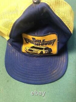 Vintage Dale Earnhardt Snapback Trucker Hat Wrangler Nascar Cap 3 Par Sportswear
