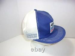 Vintage Ford New Holland K Products Mesh Trucker Snapback Hat Cap Patch États-unis