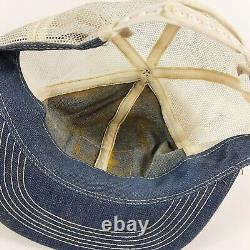 Vintage Ford New Holland Snapback Cap Trucker Hat Mesh Patch K Products États-unis