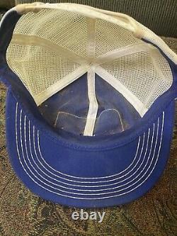 Vintage Ford Tracteur Snapback Chapeau De Camionneur Mesh Patch Cap K Marque USA Mattoon IL