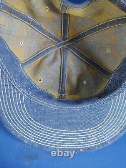 Vintage Ford Tractors Denim Patch Snapback Trucker Hat Cap USA Produits
