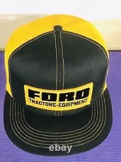 Vintage Ford Tractors Equipment Snapback Trucker Hat Cap Rare K Produits De Marque