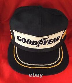 Vintage Goodyear Trucker Chapeau Chapeau Snapback Louisville Menthe Rare Années 80 Course Etats-unis