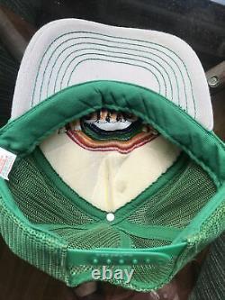 Vintage Hawaii Rainbow Warriors Hat Cap Snapback Trucker Mesh Brodé Logo