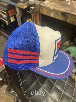 Vintage Honda Three Stripe Snapback Trucker Hat Mesh Patch Cap Pepsi