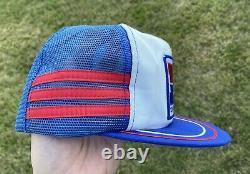 Vintage Honda Trois Stripe Snapback Chapeau De Camionneur Mesh Patch Cap Pepsi USA