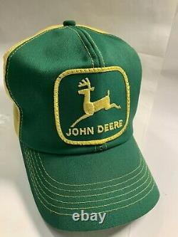 Vintage John Deere Camionneur Patch Snapback K Marque Produits