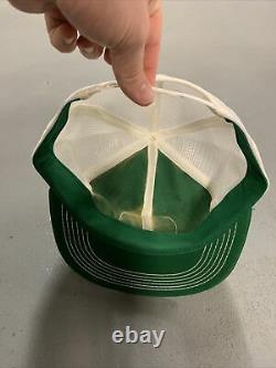 Vintage John Deere K Marque Verte Mesh Trucker Snapback Hat Cap Patch Etats-unis