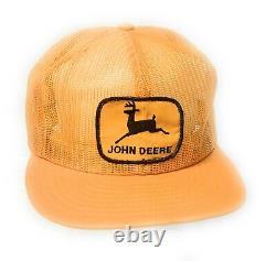 Vintage John Deere Louisville Mfg Co Chapeau De Camionneur À Fond En Mesh