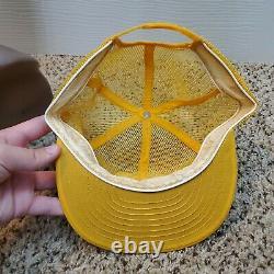 Vintage John Deere Louisville Mfg Co Full Mesh Snapback Trucker Hat Cap