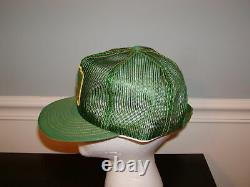 Vintage John Deere Snapback Hat Cap Mens All Mesh Patch Trucker Louisville Années 1970