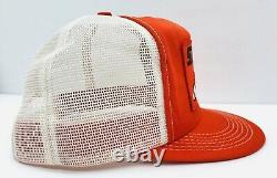 Vintage K Marque Stihl Chainsaw Patch Mesh Snapback Trucker Hat Cap Mint USA Made