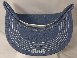 Vintage K-produits Unocal 76 Chapeau De Snapback Complet Denim Cap Patch Vtg