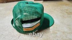Vintage Kodiak Racing 3 Stripe Trucker Snapback Mesh Cap Hat K Produits