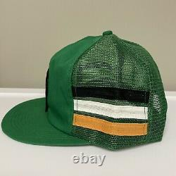 Vintage Kodiak Racing K Produits 3 Stripe Mesh Patch Snapback Trucker Cap Hat