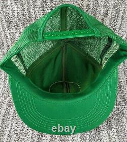 Vintage Kodiak Racing Trucker Hat K Produits 3 Stripe Mesh Snapback Cap USA Euc