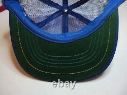 Vintage Michelin Snapback Trucker Hat Full Mesh Patch Cap Swingster États-unis