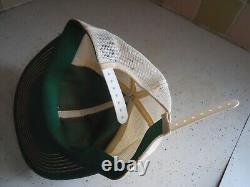 Vintage Nascar Hat Burt & Hals Skoal Bandit Mesh Trucker Snapback Patch