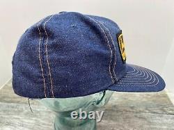 Vintage Ocala John Deere Denim Snap Back Patch Trucker Hat Cap Louisville États-unis