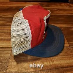 Vintage Rare Atc Honda Cycle Racing Trucker Patch Hat Cap Snapback Fabriqué Aux États-unis