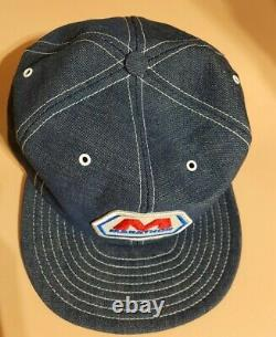 Vintage Rare Denim Louisville Trucker Hat Marathon Gas & Oil Patch Cap Hat, États-unis