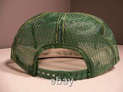 Vintage Rare John Deere Louisville Mfg Co Plein Mesh Nos Snapback Trucker Hat Cap