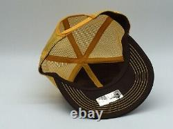 Vintage Revel Stoke Patch Snapback Trucker Hat Cap K-brand Mesh Retour