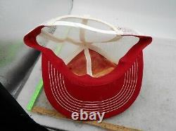 Vintage Snap-on K-marque Snapback Trucker Hat Number One Patch Mesh Cap Vtg Outils