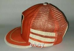 Vintage Snapback Camionneur Patch Cale Yarborough 3 Racing Cap Stripe Hardee