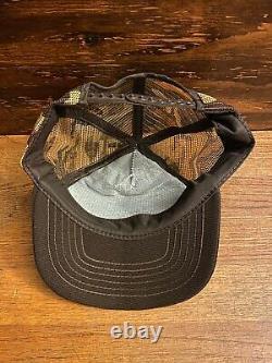 Vintage Snapback Cap Vietnam Vétéran Damn Proud Trucker Hat Camouflage Mesh USA