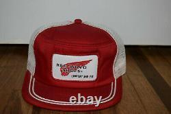 Vintage Snapback Trucker Chapeau Mesh Casquette Red Wing Shoes Confort Et Fit