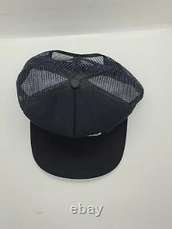 Vintage Team Yamaha Trucker Hat Cap Snapback Big Patch Brodé