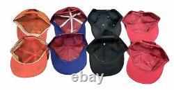 Vintage Trucker Hat Lot (8) Snapback Cap Patch Mesh K-brand Louisville Plein Mesh