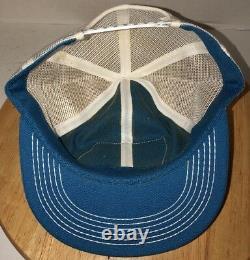 Vtg Fnb Sioux Center 1er 80s USA K-products Trucker Hat Cap Snapback Bank Iowa