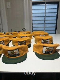 Vtg Nos Dekalb Cap Hat Lot De 16 Mesh Snapback Agriculture Seeds USA Farm Soybean
