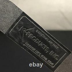 Vtg Trucker Hat Case Hat K-products Mesh Patch Snapback Hat Baseball Cap États-unis